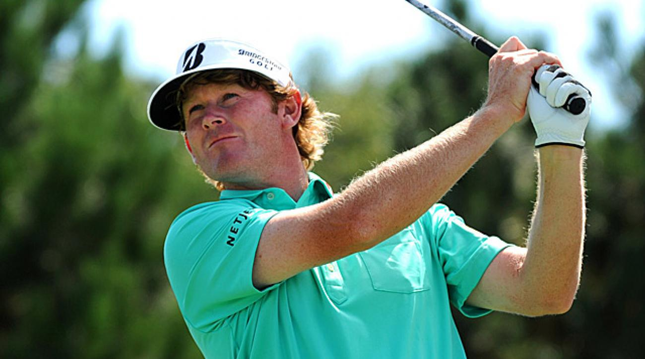 Snedeker, the defending FedEx Cup champion, could move into first in the standings with a win this week.