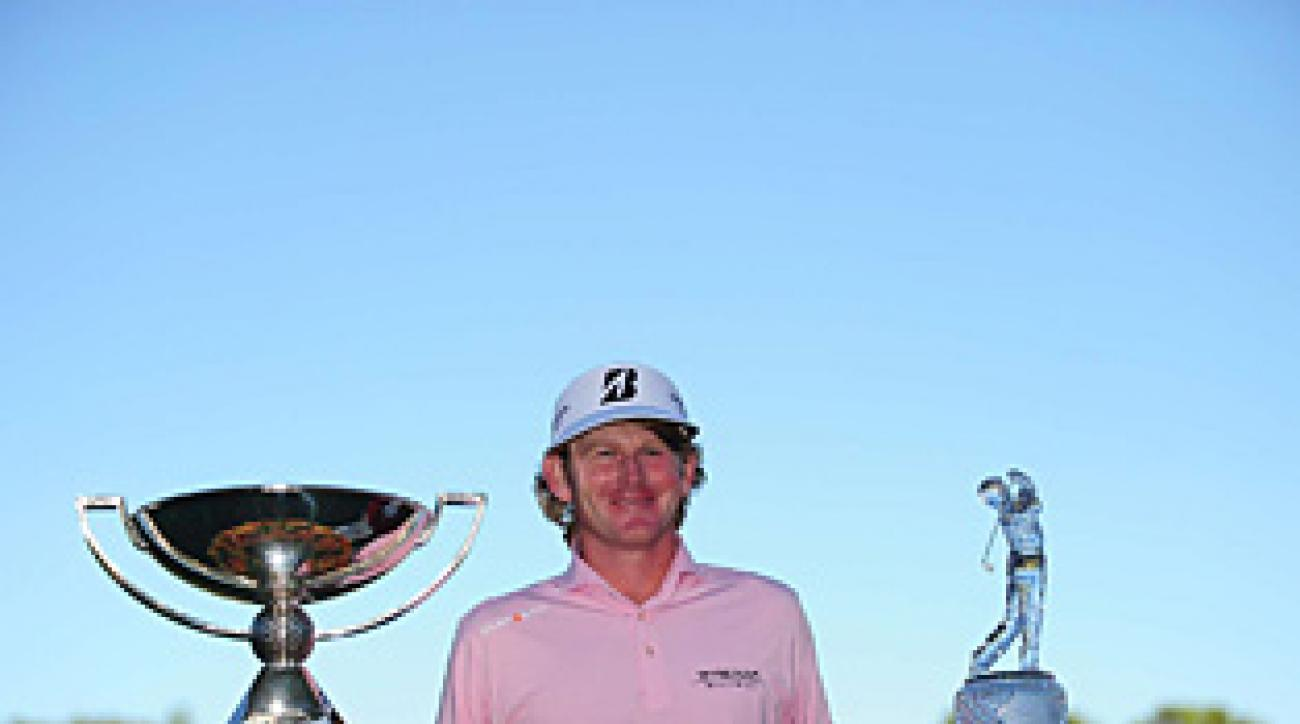 Snedeker won a couple of trophies, and a ton of cash, on Sunday at East Lake.