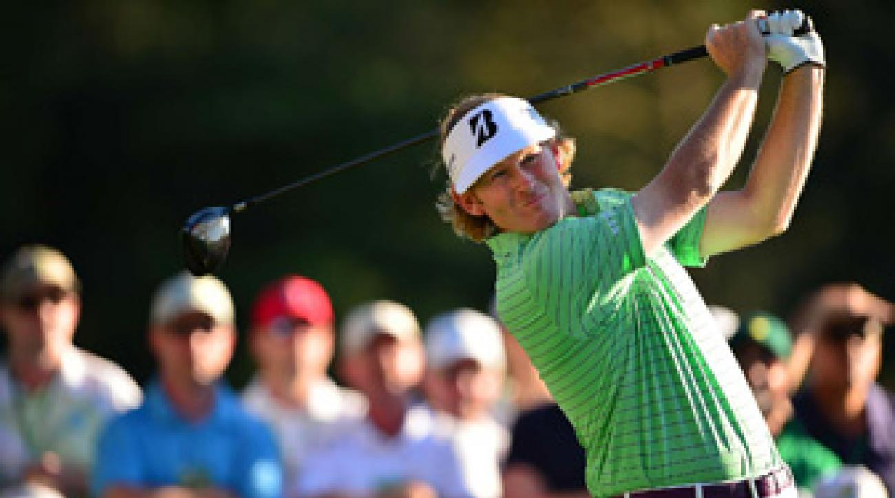 Brandt Snedeker shot a 69 and is in contention to win his first career major championship.
