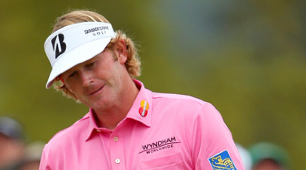 Brandt Snedeker made four bogeys on the back nine.