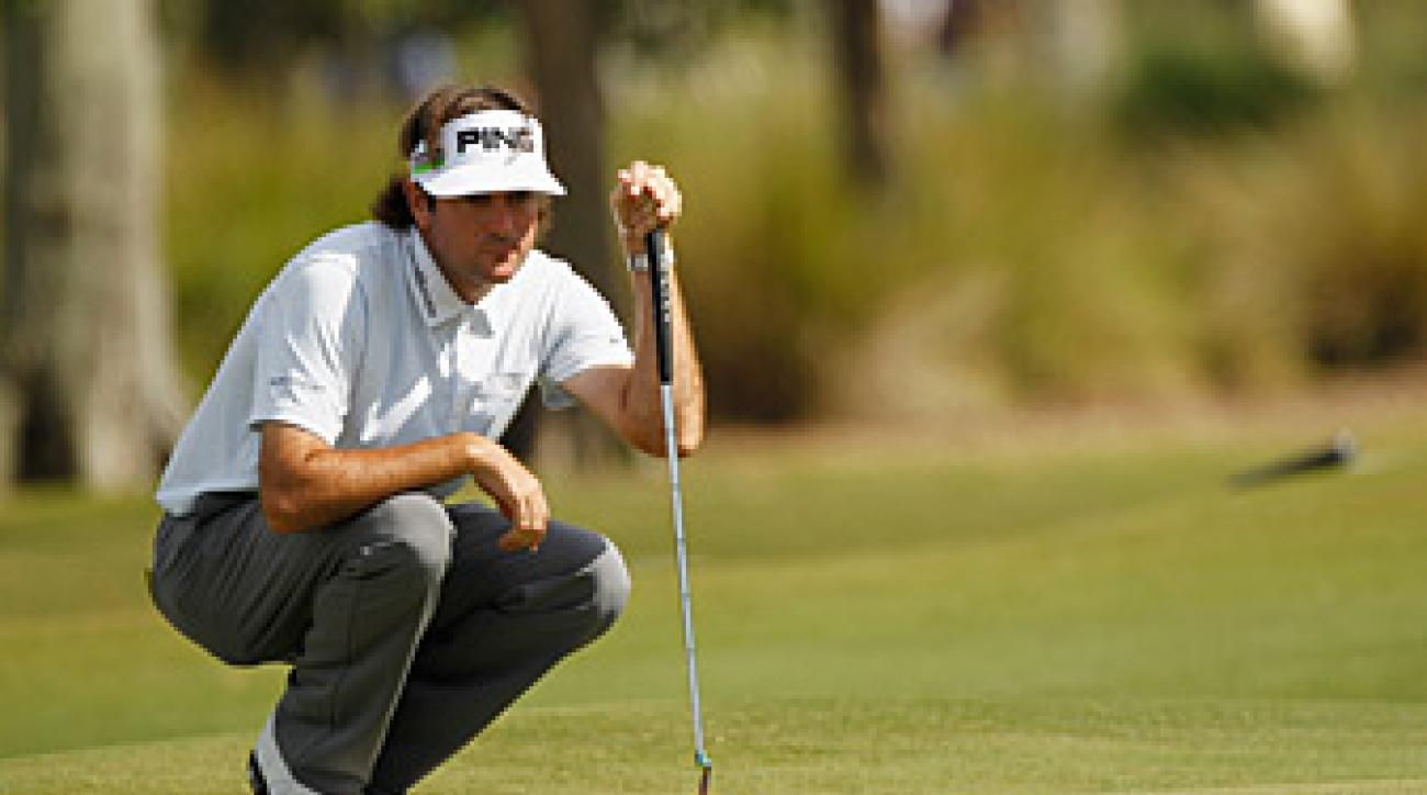 Bubba Watson is taking the week off to spend time with his family.