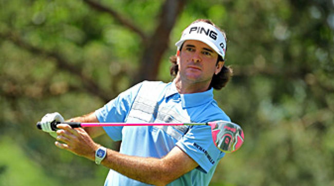 Bubba Watson said cell phones were a big distraction Thursday.