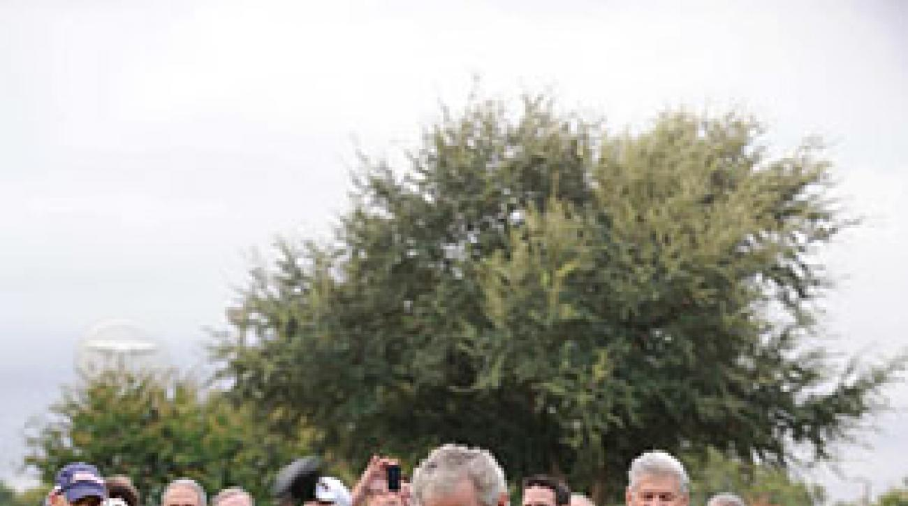 President George W. Bush at a charity tournament in September 2010 at Ridgewood Country Club in Waco.