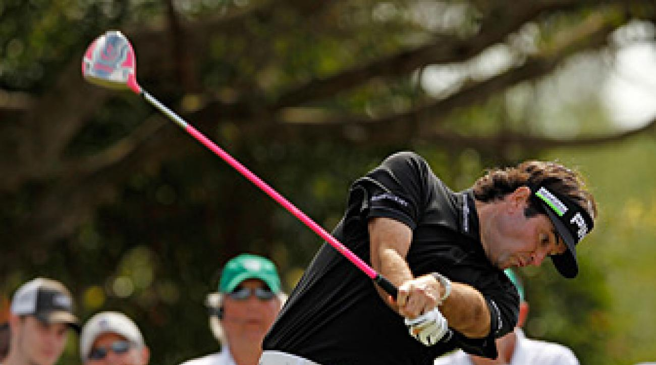 Bubba Watson won the Zurich last year in a playoff.