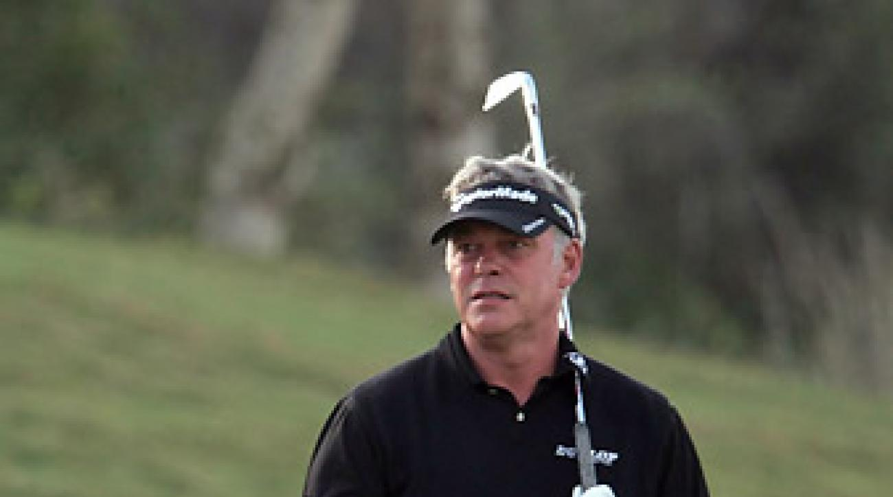 Darren Clarke was defeated by both Robert Rock and Justin Rose on Friday.