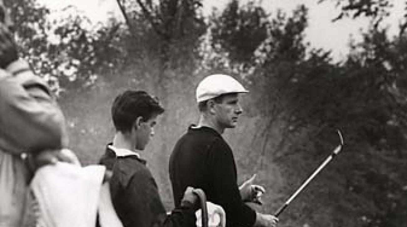 Bill Campbell at the 1964 U.S. Amateur Championship in Cleveland, Ohio,