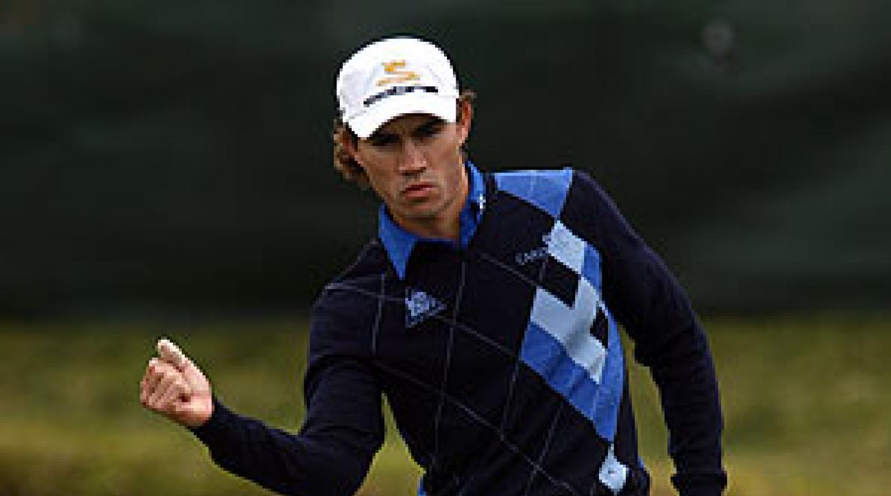 Camilo Villegas shot a 9-under 63.
