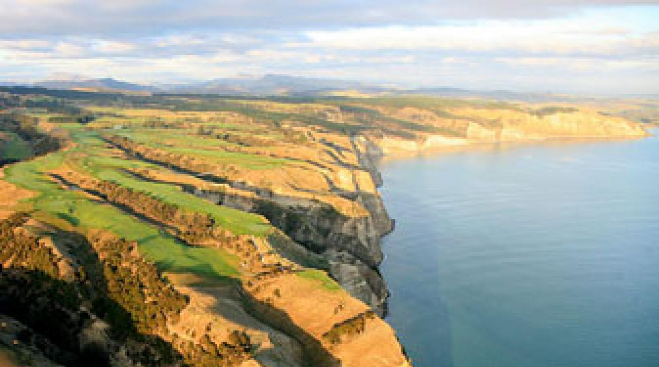 Cape Kidnappers in New Zealand, No. 33 World.