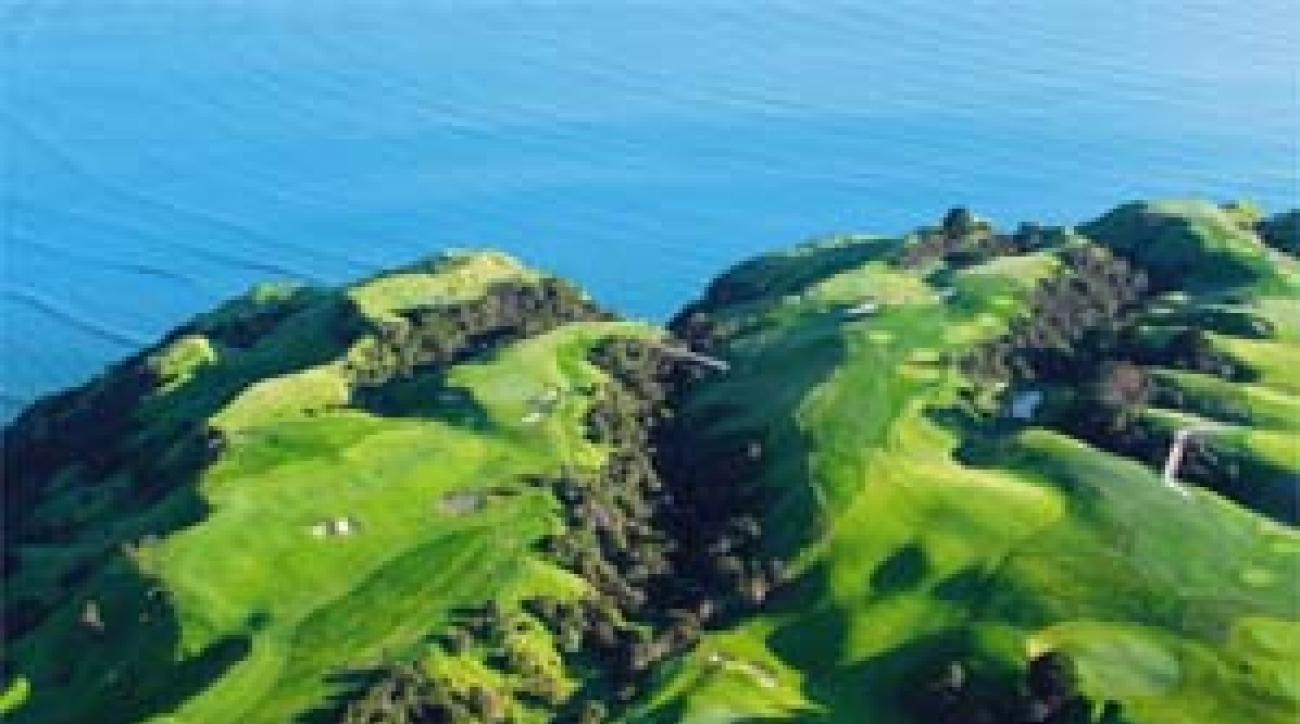 Cape Kidnappers in New Zealand