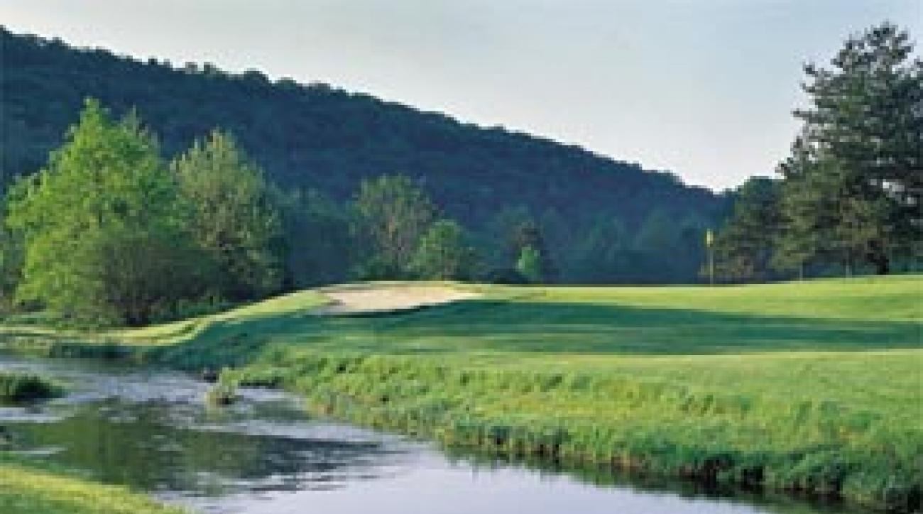 The 4th on Carroll Valley's original course.