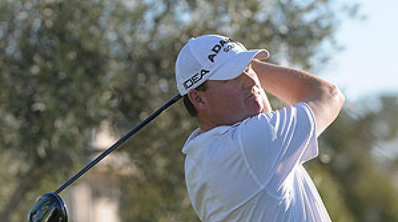 Chad Campbell shot a nine-under 62 on Friday.