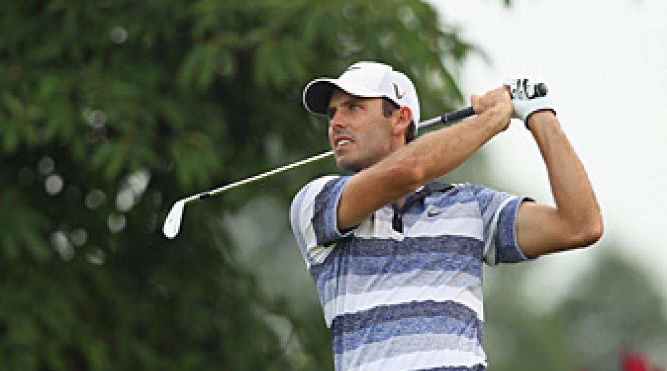 Charl Schwartzel made nine birdies and one bogey.