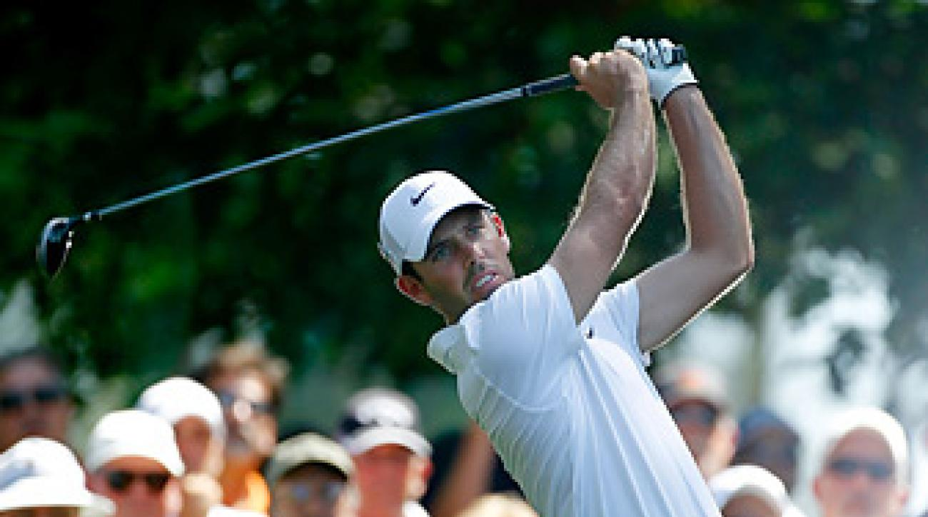 Charl Schwartzel served up a South African menu at the annual champions dinner.