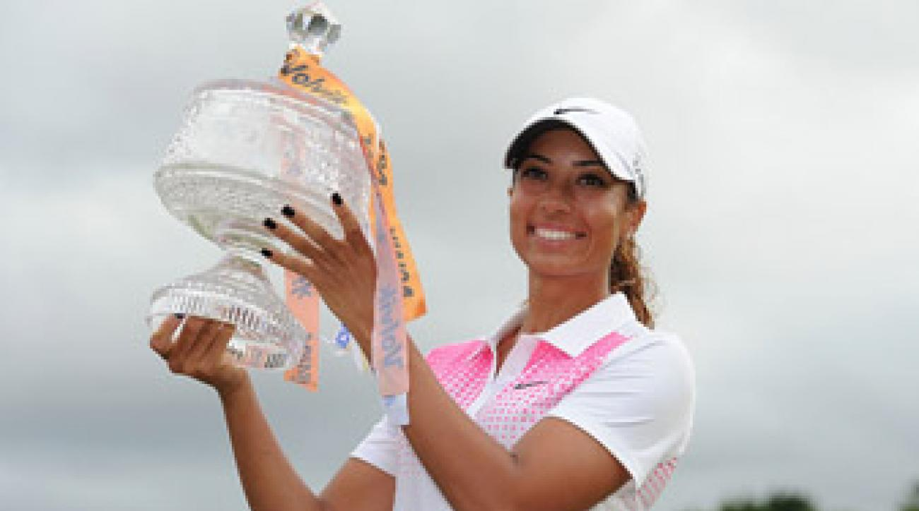 "Cheyenne Woods said she's determined to be known as something more than ""just Tiger Woods' niece."""