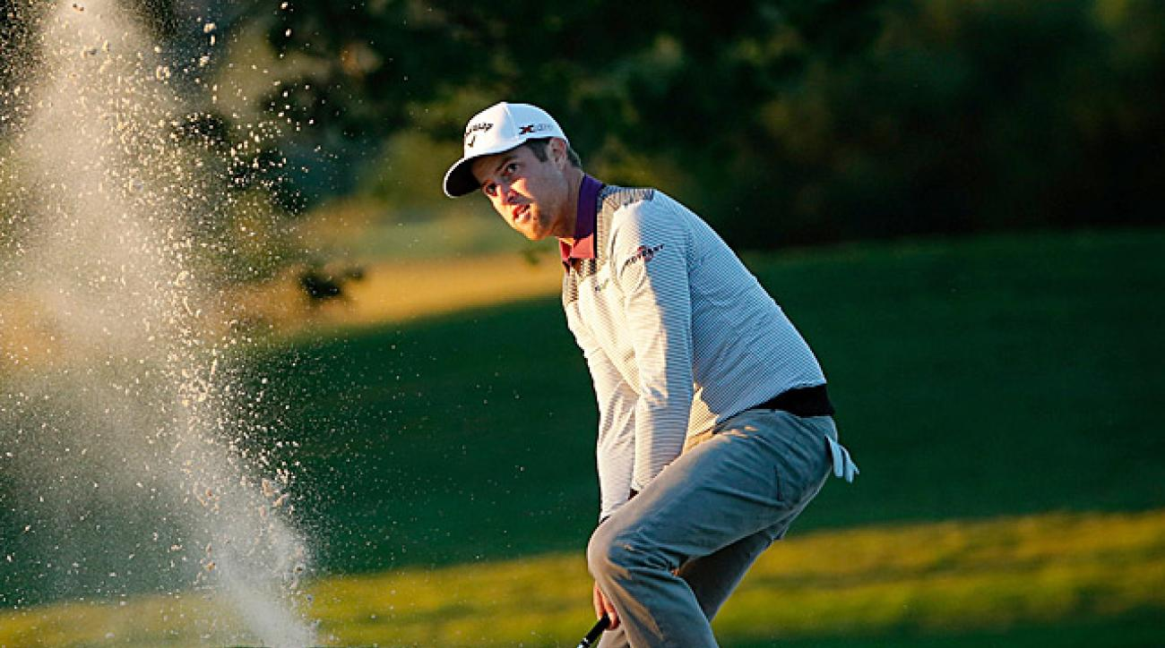 Kirk's four-under 68 on Friday was good enough for a one-shot lead.