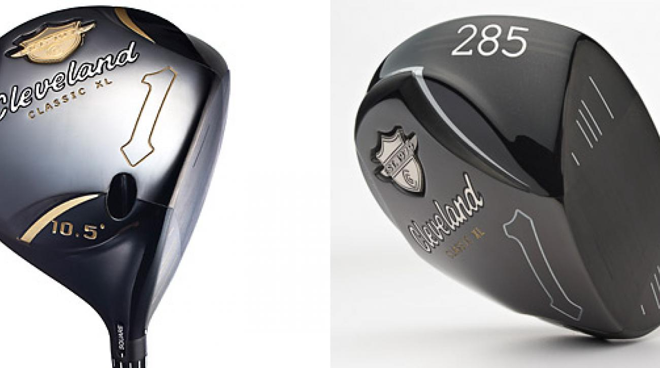 The Cleveland Classic XL Custom (left) and the Cleveland Classic XL drivers.