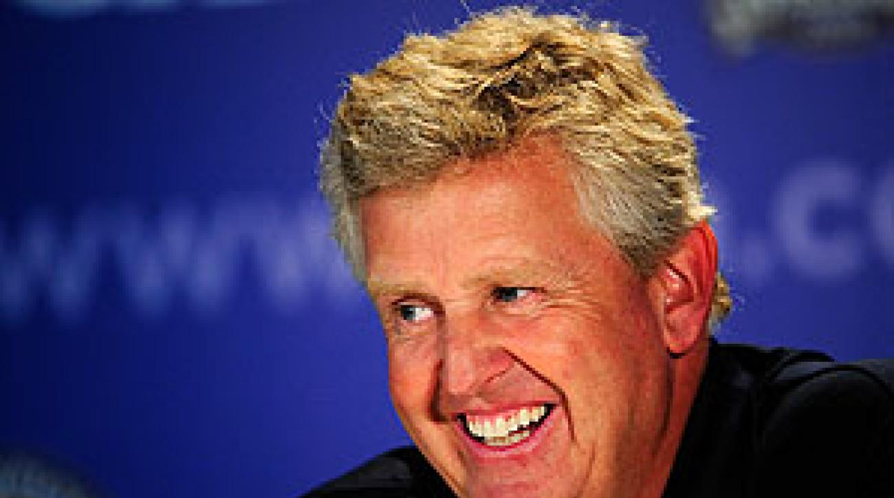 Colin Montgomerie is ranked 214th in the world.