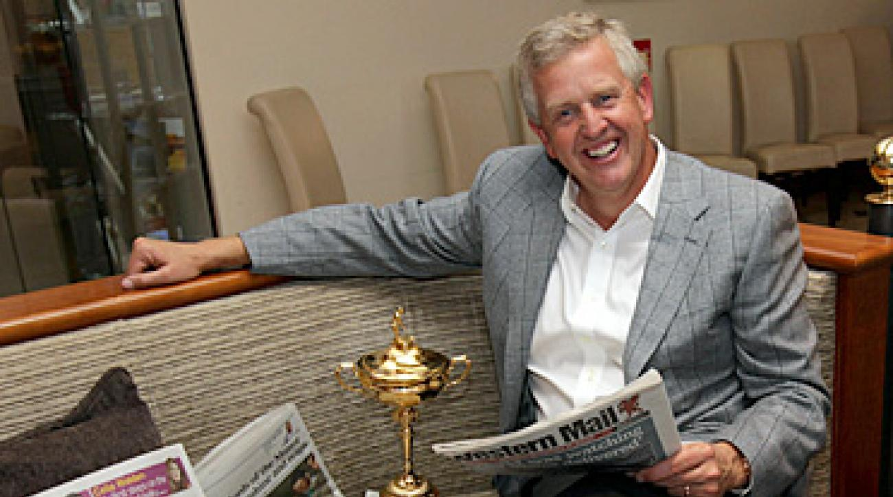 "Colin Montgomerie called the Europeans' triumph at Celtic Manor, ""the greatest moment of my golfing career."""