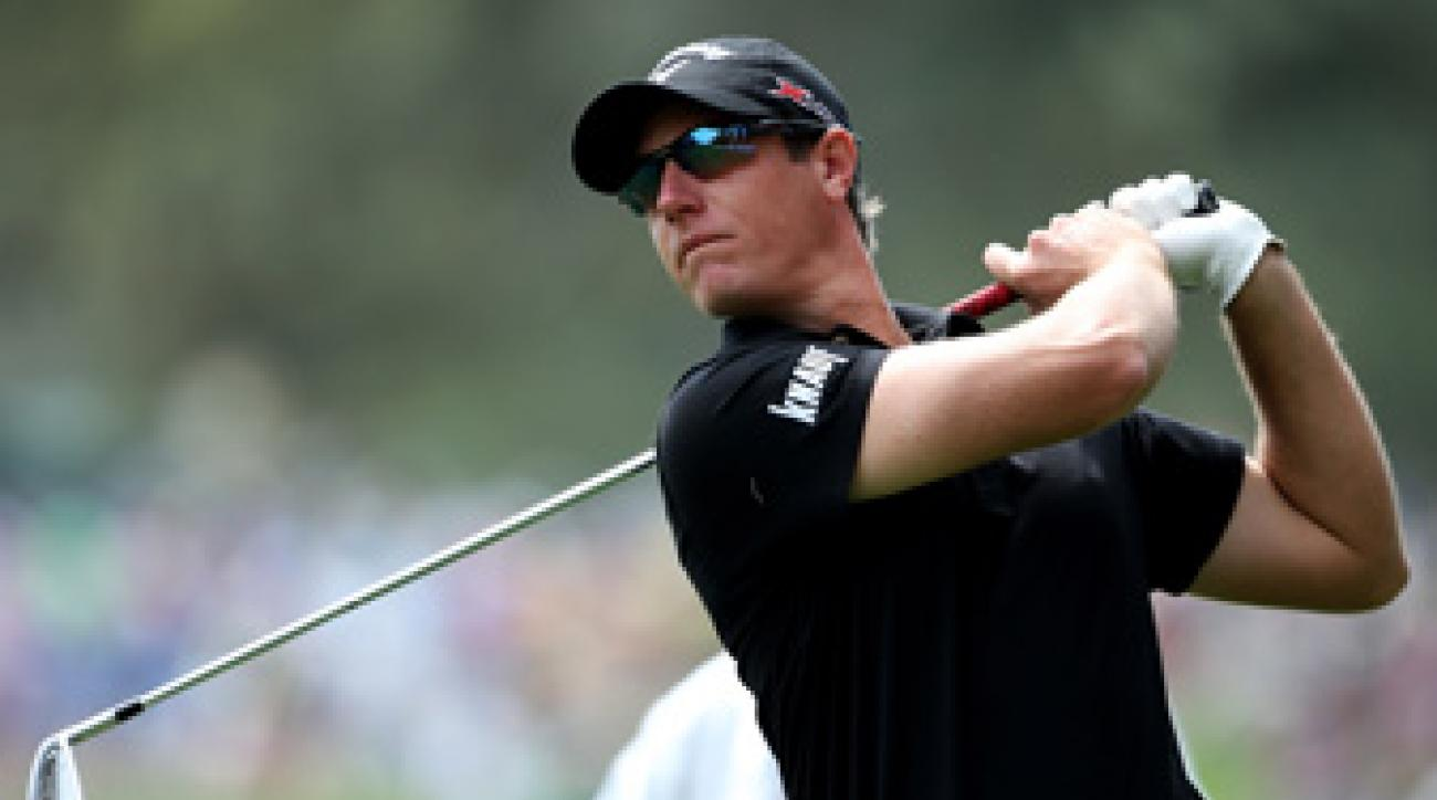 Nicolas Colsaerts is making his first appearance at the Masters.