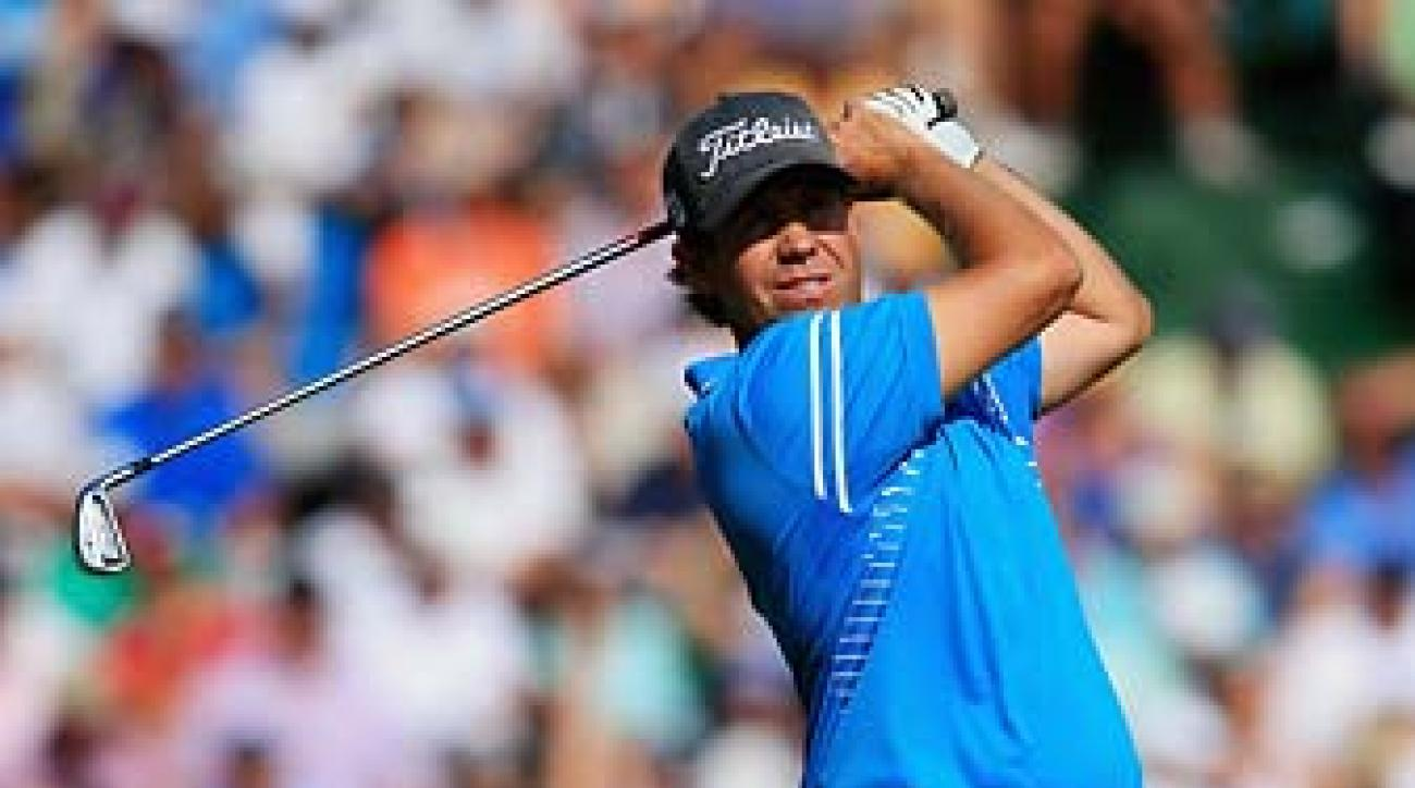 Erik Compton shot 67 in the third round of the U.S. Open on Saturday.