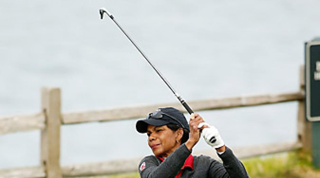 Condoleezza Rice became one of the first female members at Augusta National last year.