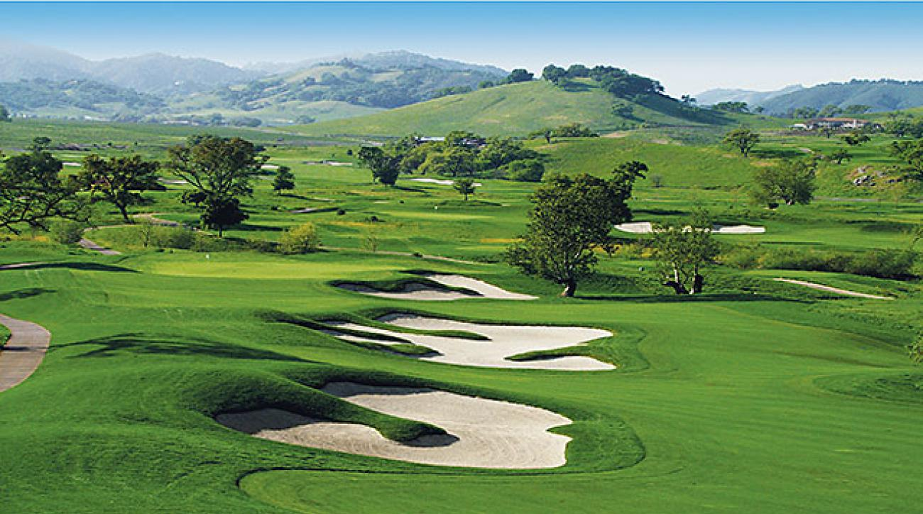 CordeValle is one of the best courses in California and hosts a PGA Tour event every year.