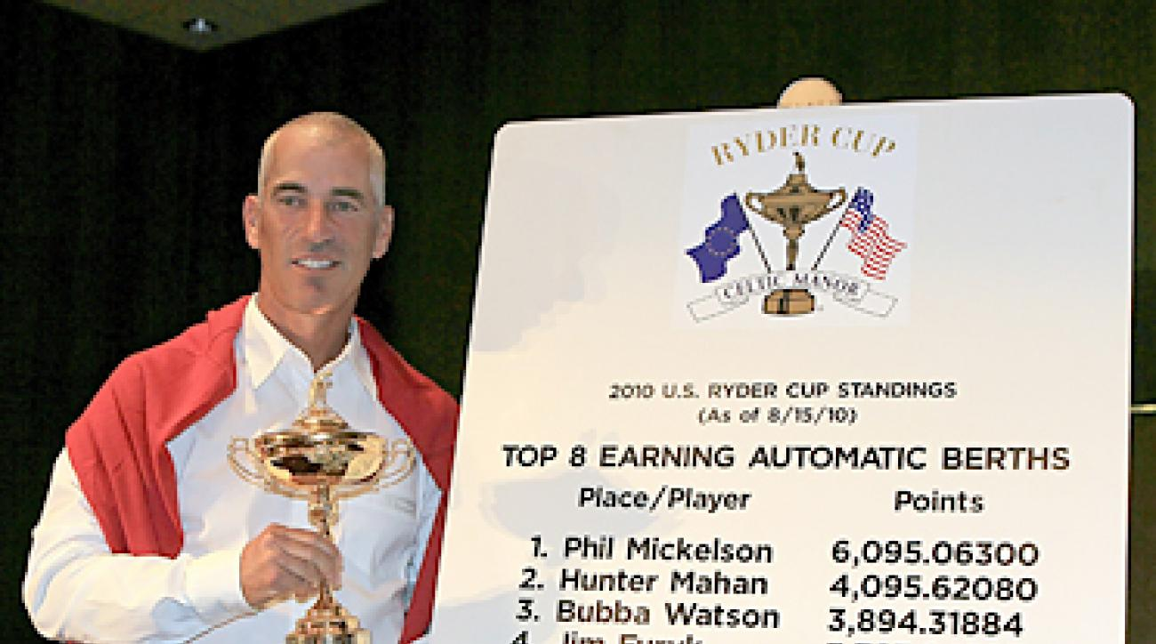 Corey Pavin has some difficult decisions to make beyond the eight automatic qualifiers for his 2010 U.S. Ryder Cup Team.