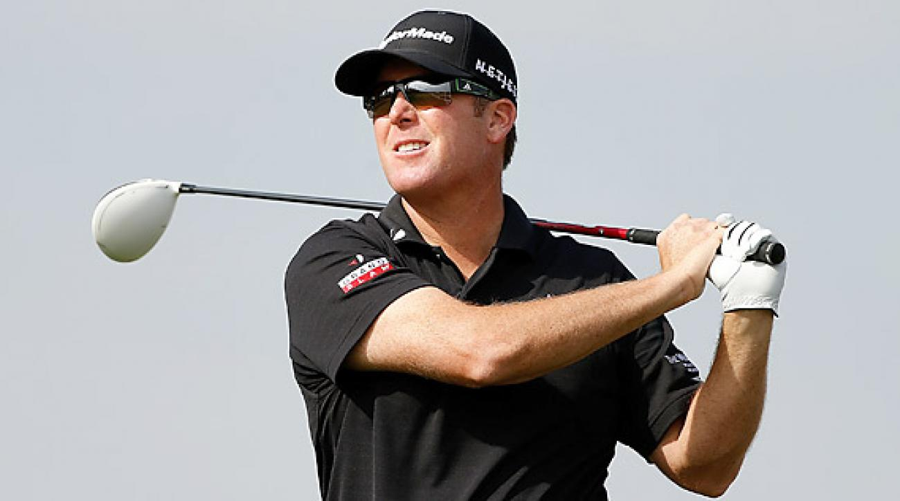 D.A. Points took the lead with an eight-under 64.