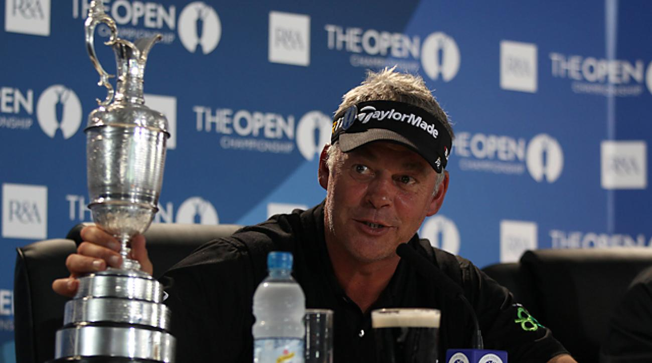 Clarke won the 2011 British Open at Royal St. George's, his only major championship victory.