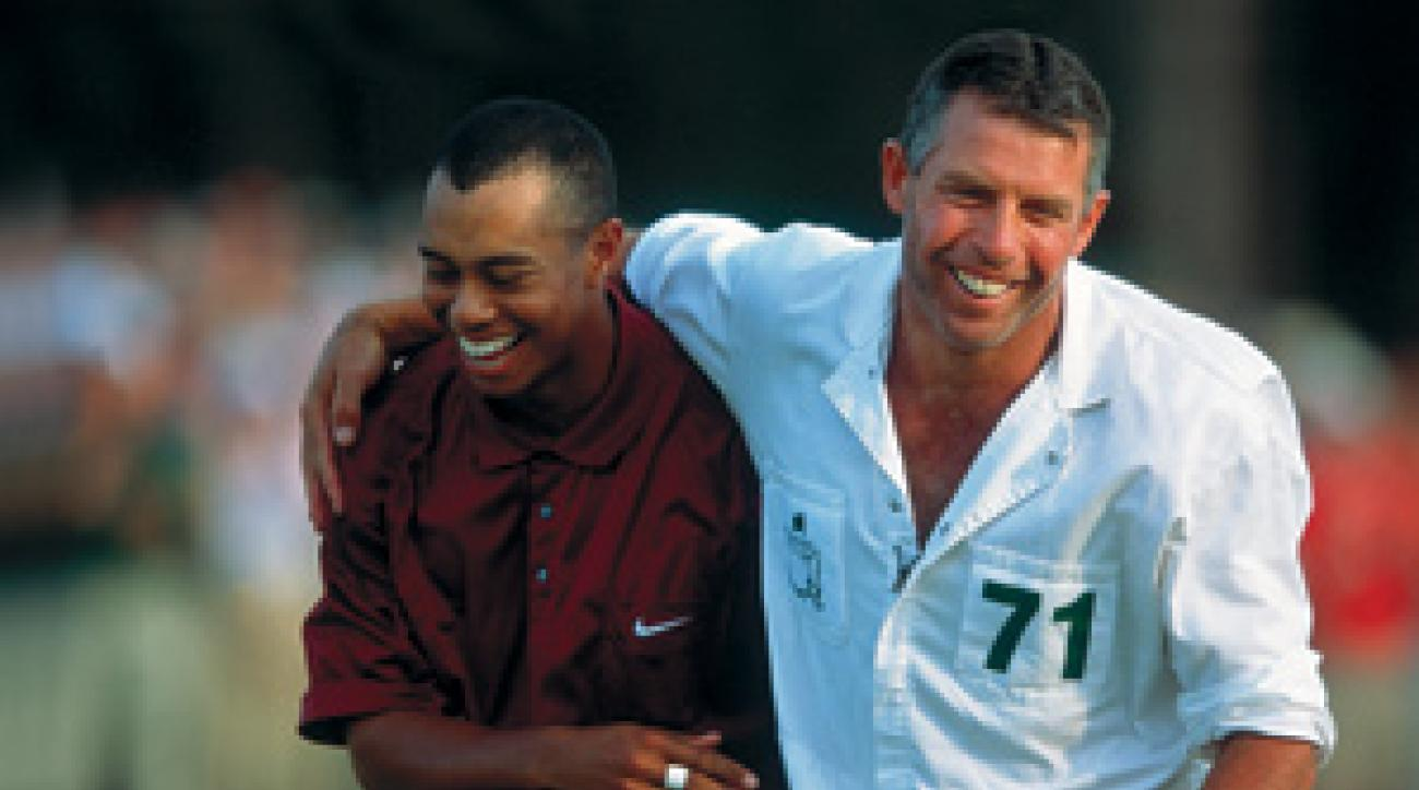 "Tiger Woods capped off the ""Tiger Slam"" by winning the 2001 Masters."