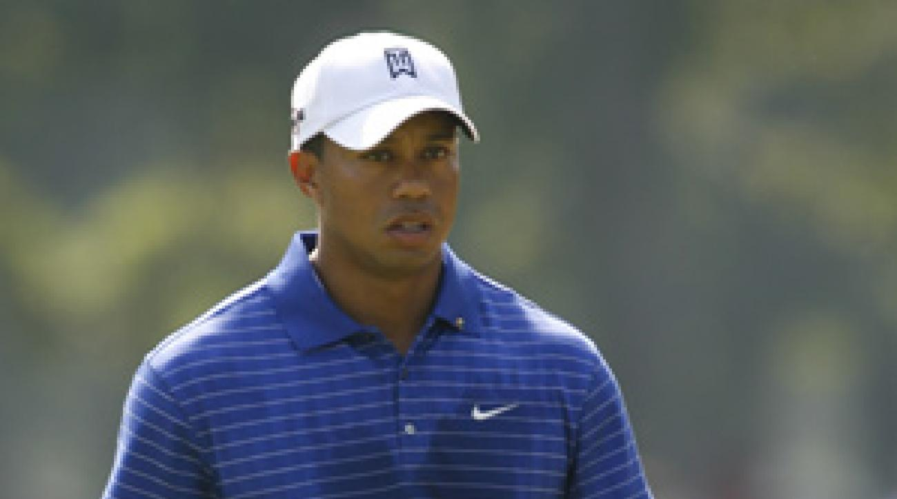 Tiger Woods is back to practicing again, but he has yet to announce his return to golf.