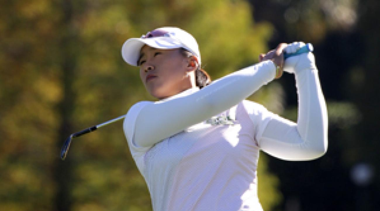 Amy Yang made an eagle, four birdies and a bogey.