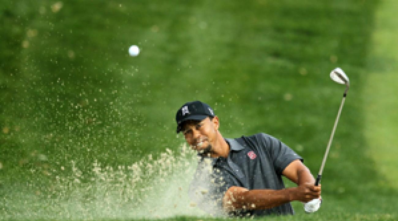Tiger Woods shot a bogey-free 66.