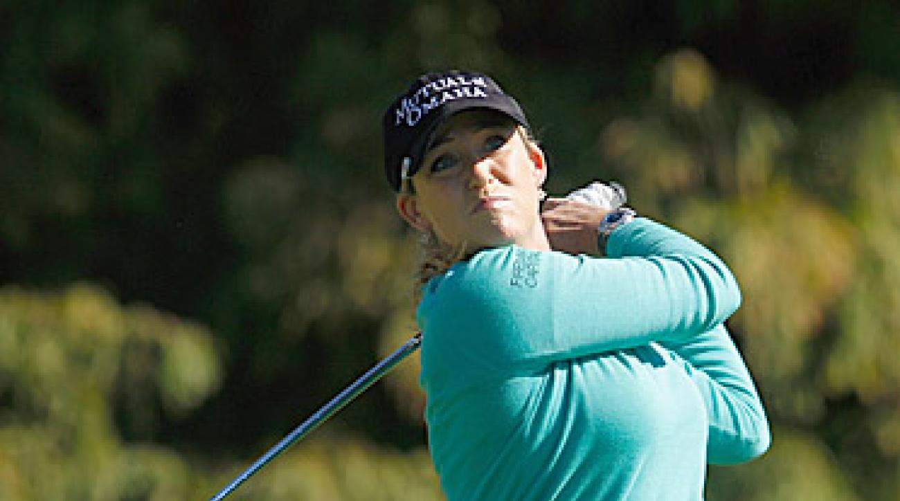 With a win this week, Cristie Kerr can become the first American in 16 years to win LPGA Player of the Year.