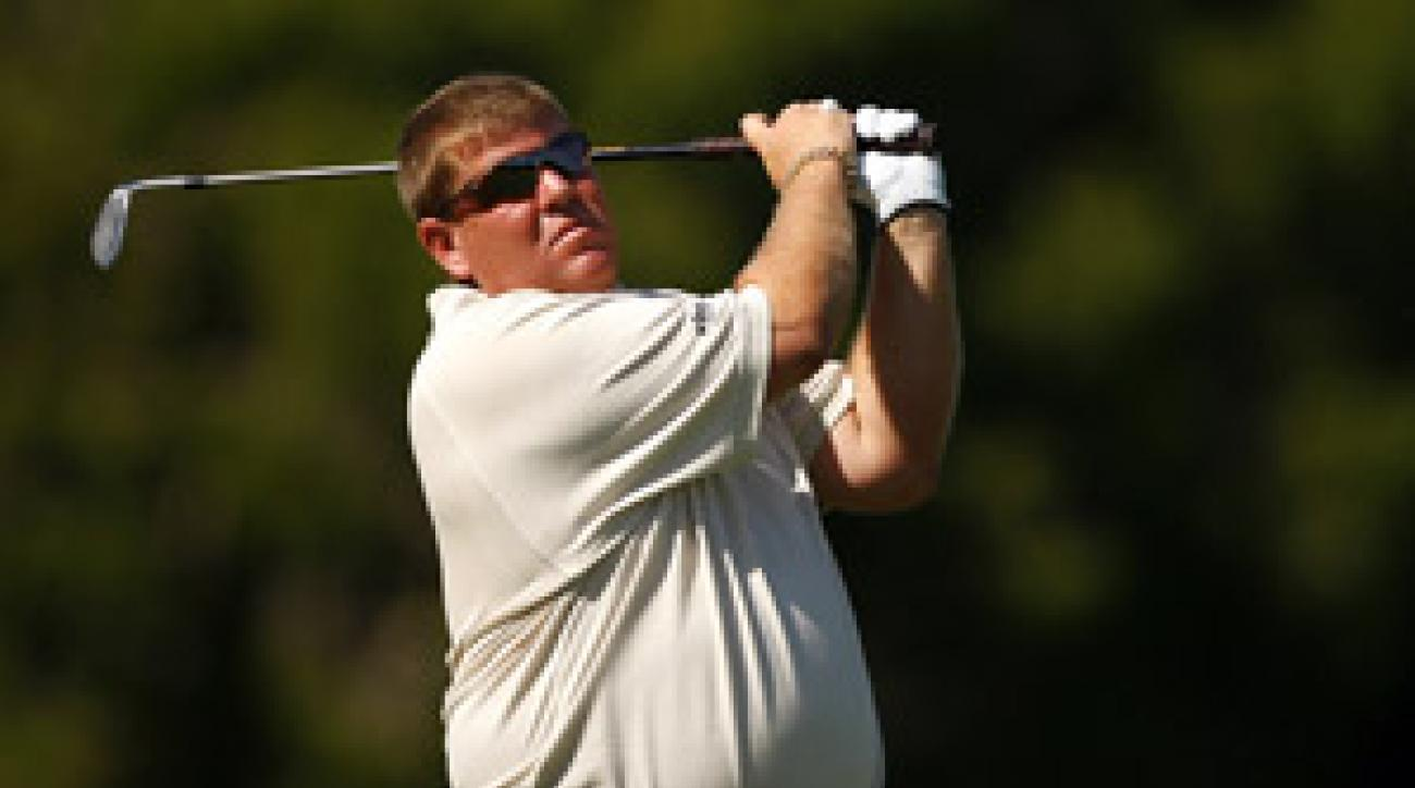 John Daly shot a 71 on Thursday.