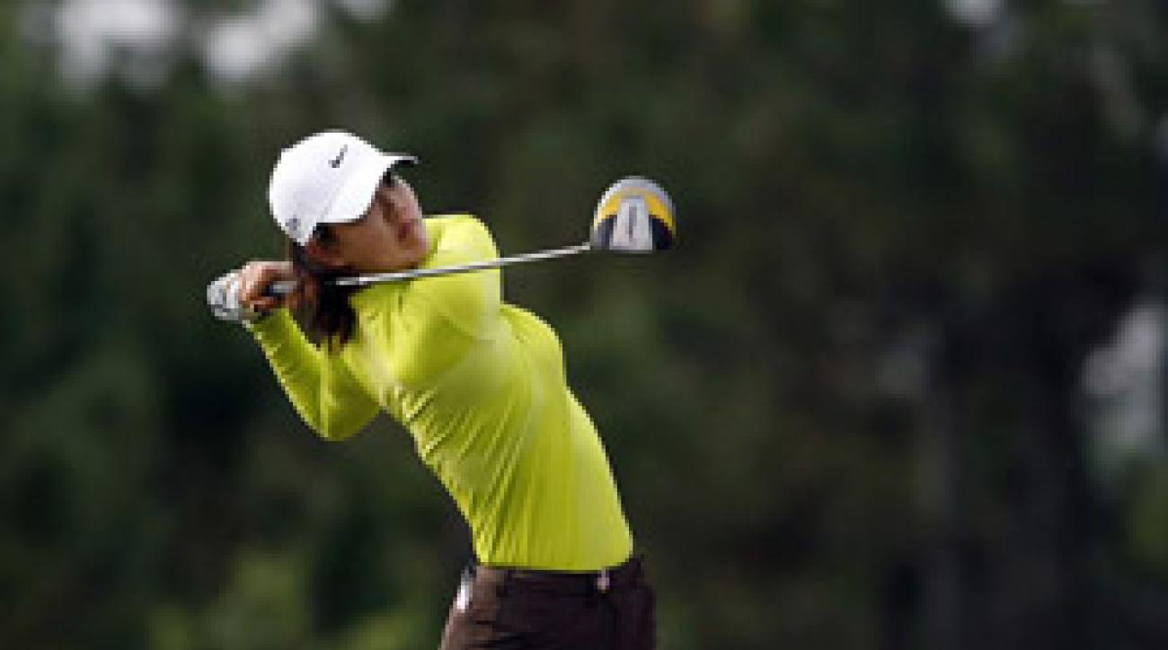 Michelle Wie shot a 7-under 65 on Friday.