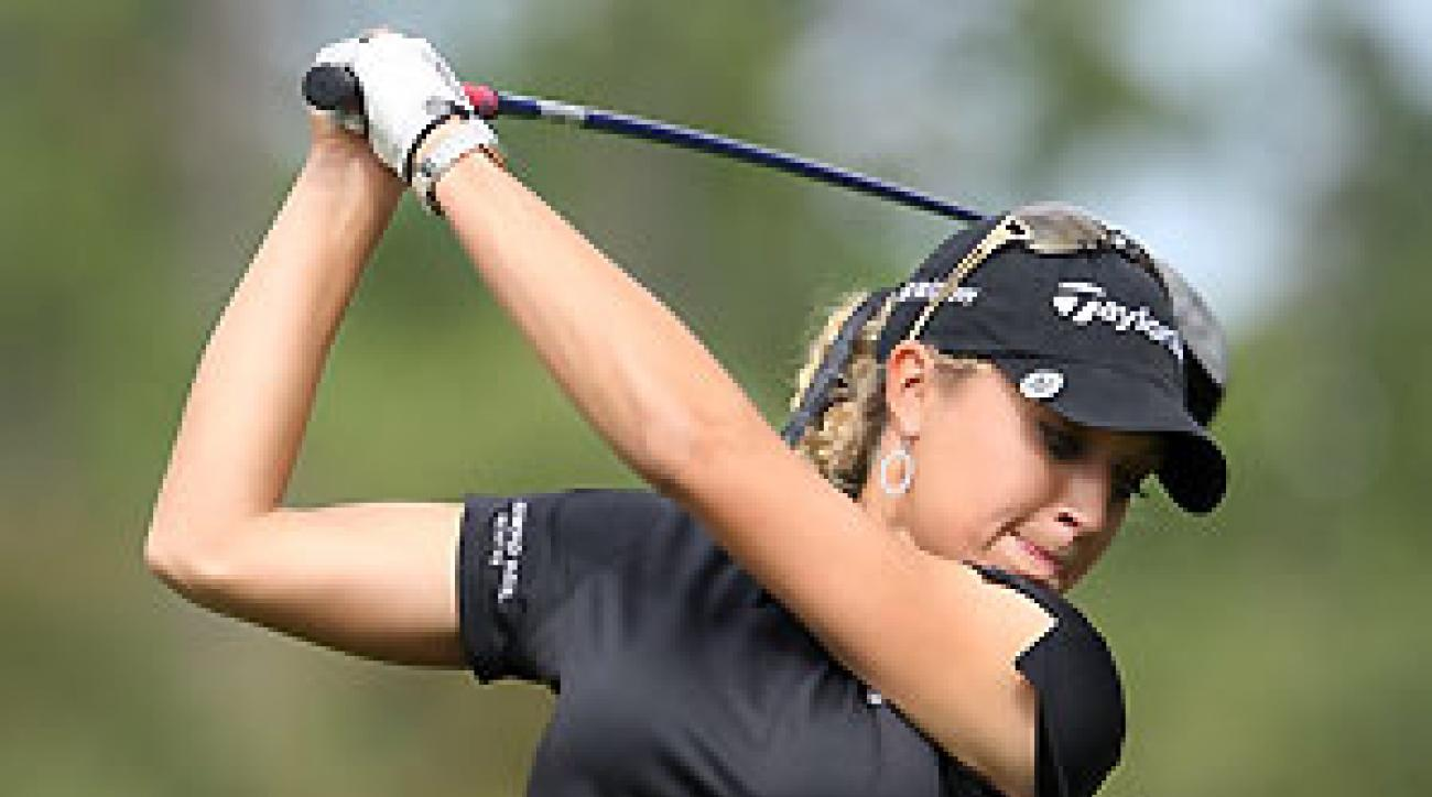 Natalie Gulbis won the Evian Masters in France and then helped the United States win the Solheim Cup over Europe.