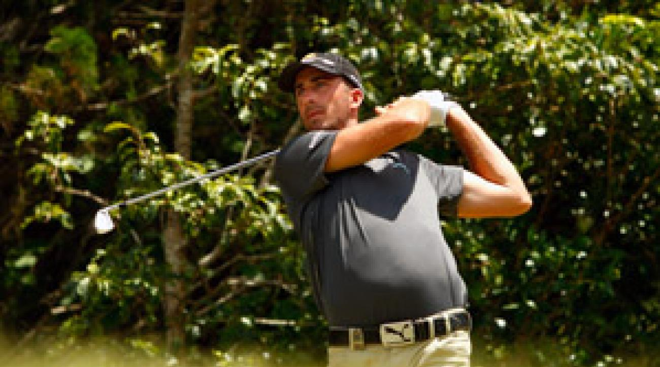 Geoff Ogilvy shot a 67 on Saturday.