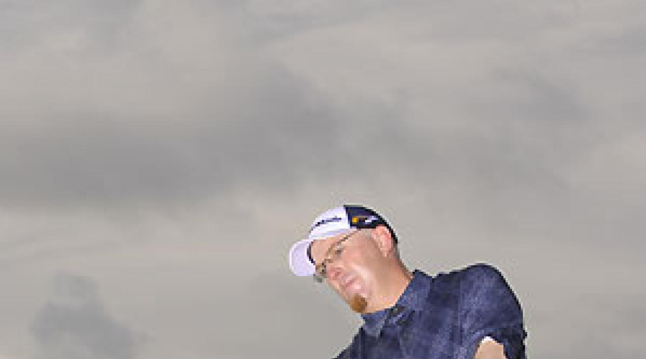 When you swing your hands around your hips, this is what your finish looks like.