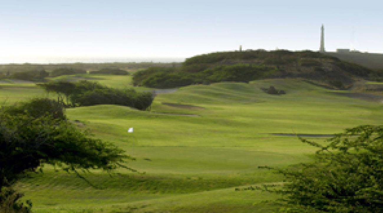 The lighthouse and stiff breezes at Tierra del Sol conjure images of Turnberry.