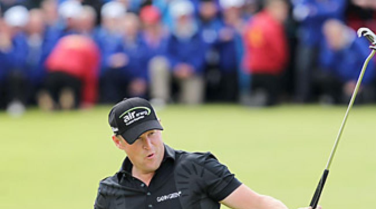 Jamie Donaldson shot a six-under 66 on Sunday to win.