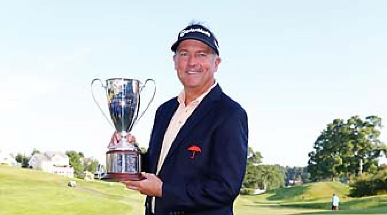 Prior to winning the Travelers Championship on Sunday, Ken Duke's best finish in 2013 was a T8 at the Arnold Palmer Invitational.