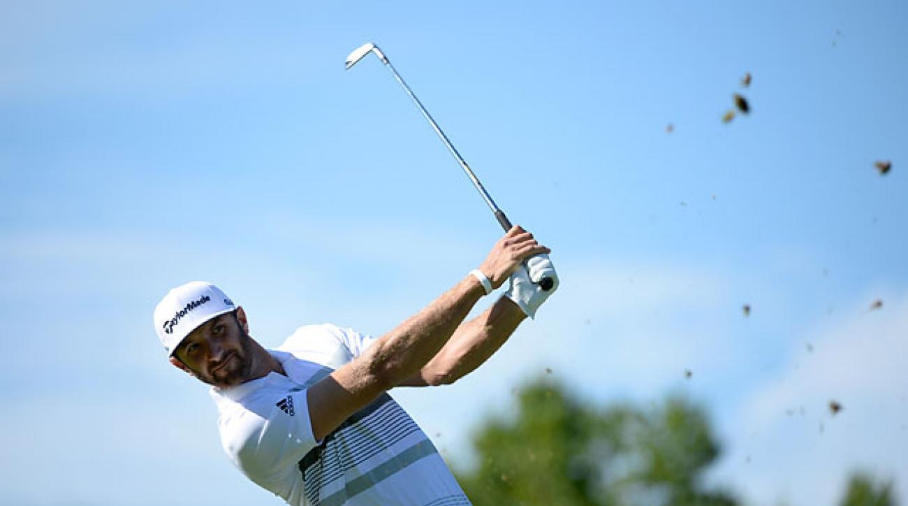 Dustin Johnson at the Canadian Open in July, his last event prior to taking a six-month 'leave of absence.'
