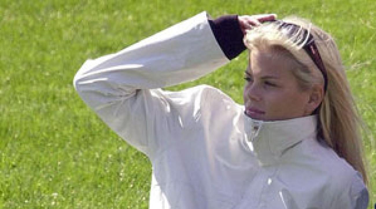 who is this woman  meet elin nordegren