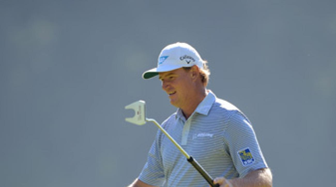 Ernie Els won a major last year using a belly putter.