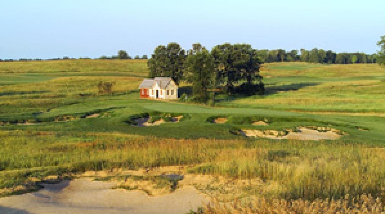 <strong>19th hole:</strong> Quirky Erin Hills has an extra par-3, the Bye Hole, that could be put into play during a championship.