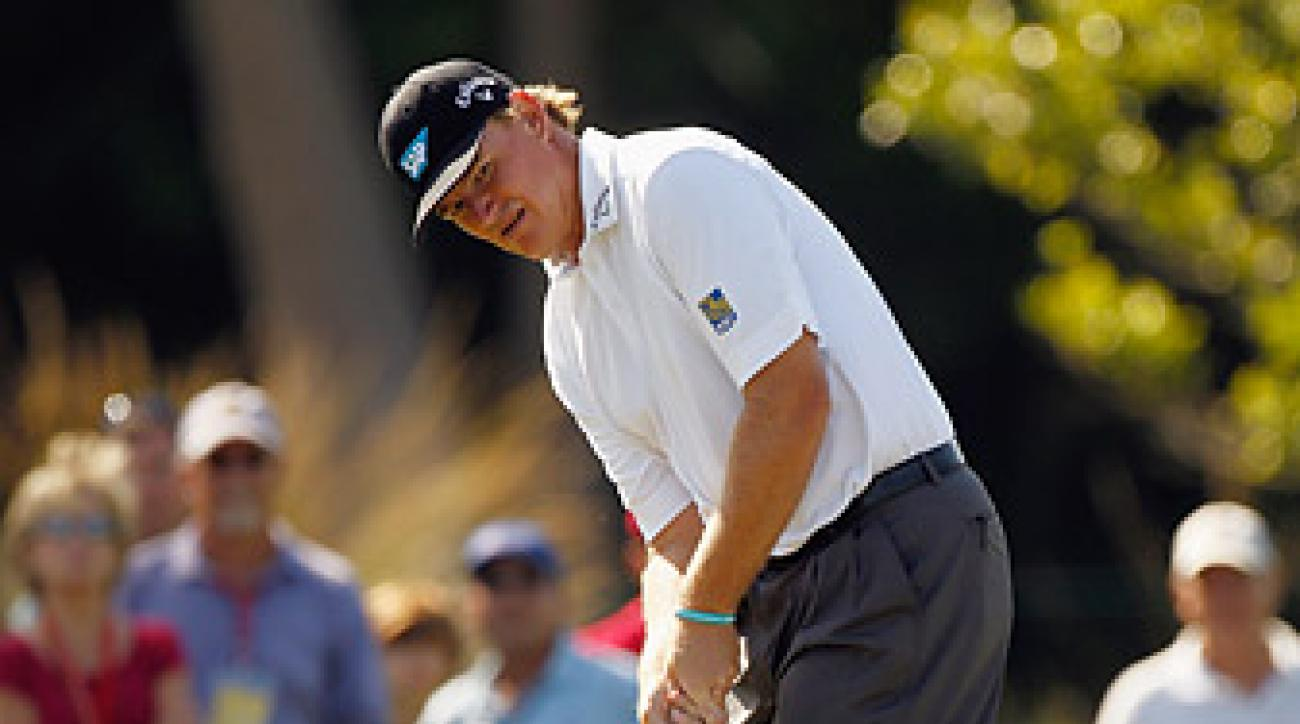 Ernie Els shot a six-under 66 to get within one shot of the lead.