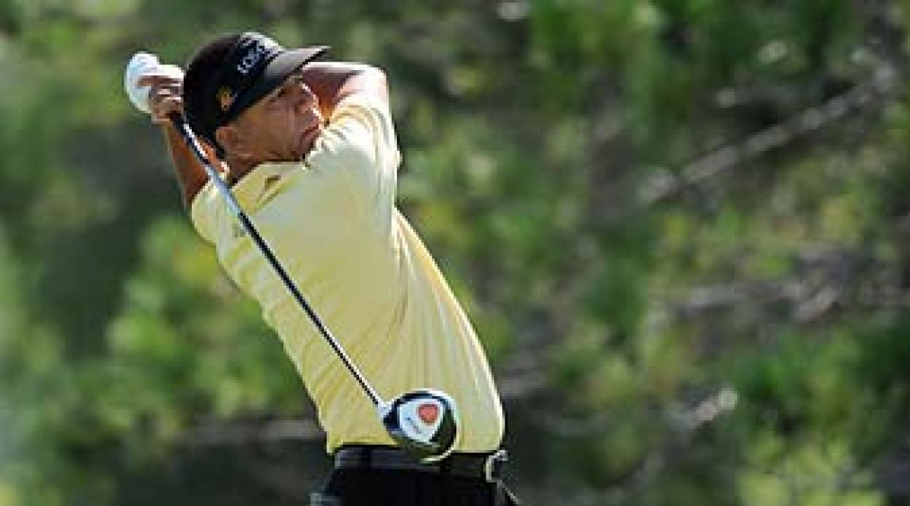 Esteban Toledo at the 3M Championship at TPC Twin Cities on August. Toledo won the Montreal Championship on Sunday for his second Champions Tour victory of the season.