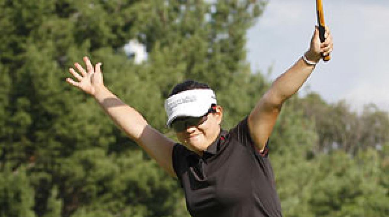 Eunjung Yi shot a final-round 71.