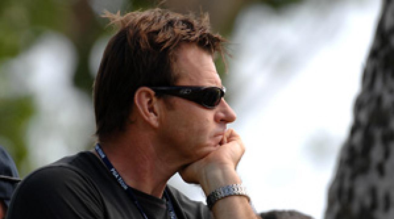 Nick Faldo won three Open Championships.